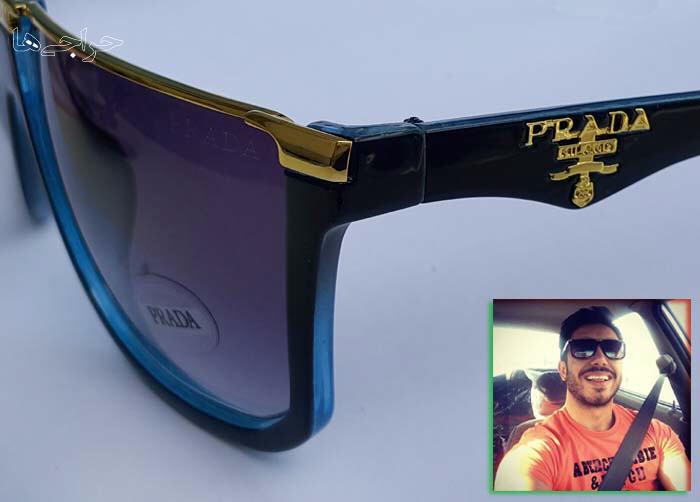 عینک آفتابی زنانه و مردانه پرادا – مدل فلت