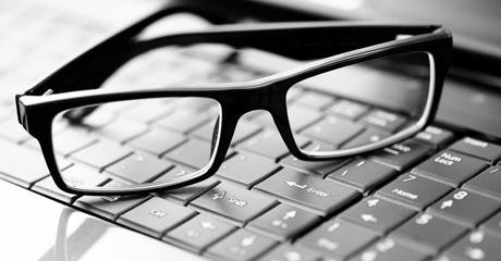 عینک آنتی رفلکس مخصوص کامپیوتر