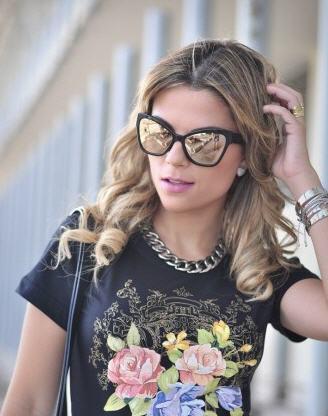 عینک آفتابی زنانه مدل جدید چنل