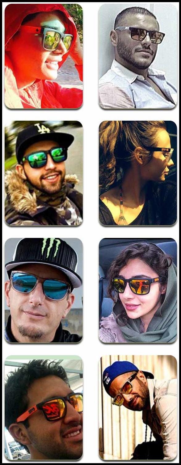 عینک بازیگران ایرانی