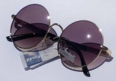 خرید عینک آفتابی شیشه گرد زنانه و مردانه