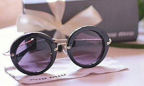 عینک فریم بزرگ زنانه